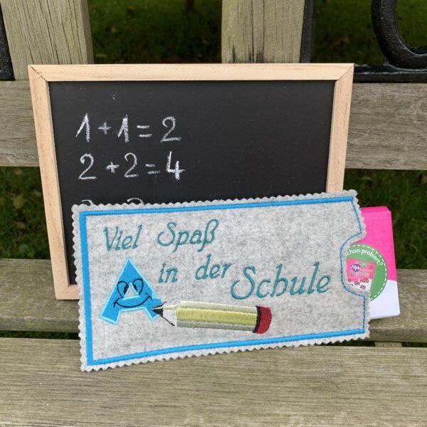 Schulstart Einschulung Schokoladenhülle