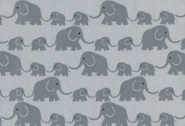 Westfalenstoffe Fat Quarter Elefanten & Co