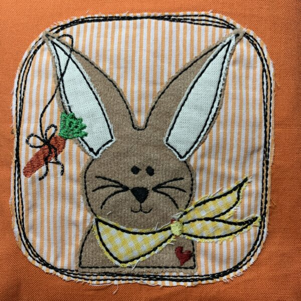 Utensilio Ostern Osterkörbchen Fadenstark Stickerei