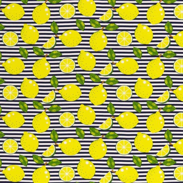 Happy Canvas Baumwolle Swafing Zitrone