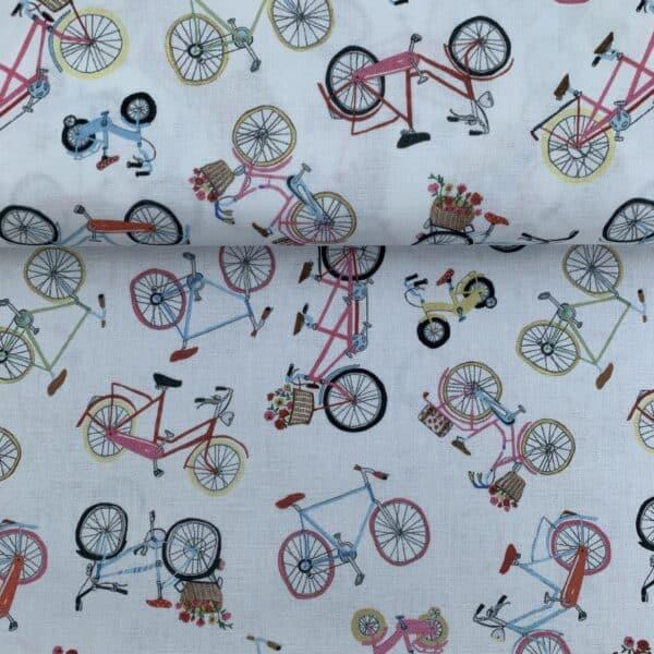 Westfalenstoffe Baumwollstoff Münster Fahrräder