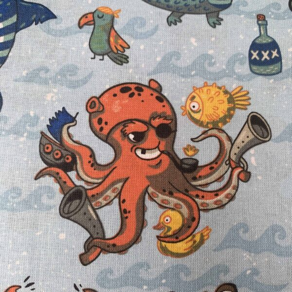 Meeresbewohner Baumwollstoff S&W