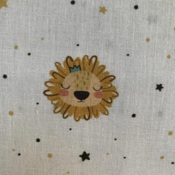 Baumwolle Löwenkopf Regenbogen Tatzen