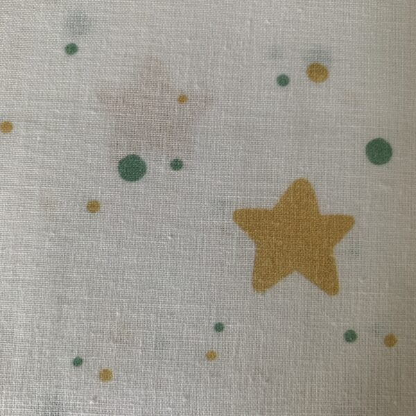 Baumwolle Druckstoff Sterne