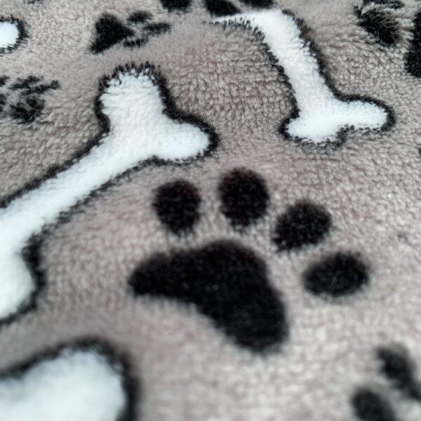 Flanell Fleece Hundpfoten