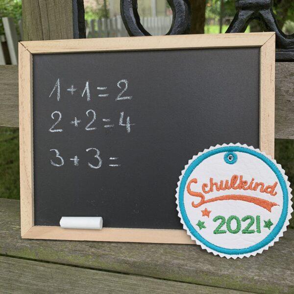 Schultüten-Anhänger - Geschenkanhänger Schulstart - Taschenbaumler - Schulkind