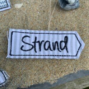 Maritim Set Strandhäuschen Anker