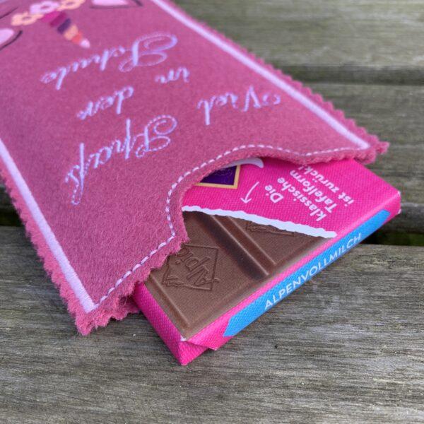 Schokoladenhülle Schulstart Einschulung
